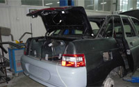 Как снять и установить крышку багажника
