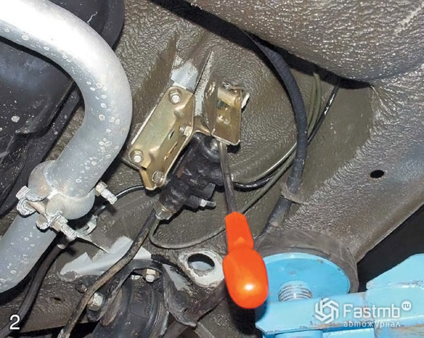Прокачка тормозной системы шаг