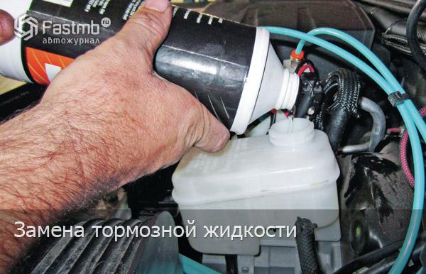Замена тормозной жидкости своими руками ваз 2110