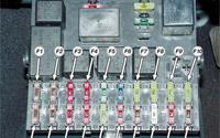 Монтажный блок ВАЗ 2110: общие сведения и схема