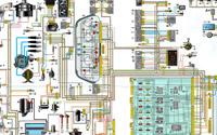 Схема ВАЗ 2110 с карбюраторным двигателем
