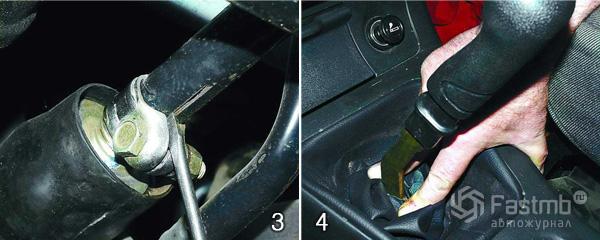 Фото №34 - регулировка рычага переключения передач ВАЗ 2110