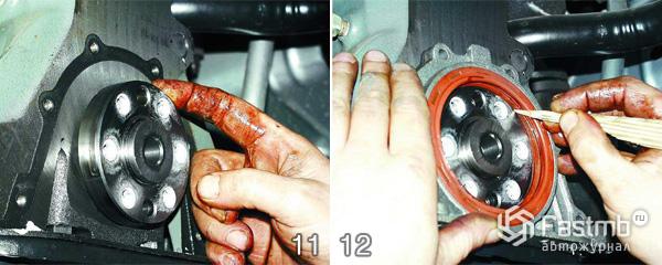 вообще так замена сальника передней крышкиколенвала ваз2114 Самара