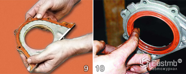 Как заменить коренной сальник на ваз 21099
