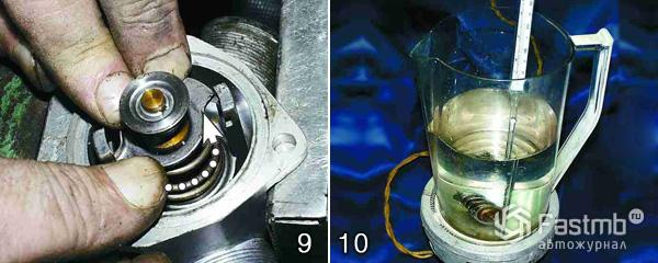 Фото №2 - ремонт термостата на ВАЗ 2110