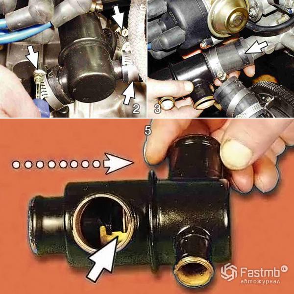 Фото №28 - термостат ВАЗ 2110 карбюратор