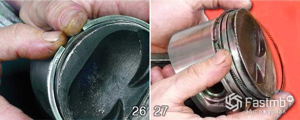 Разборка двигателя ВАЗ 2110 шаг 26-27