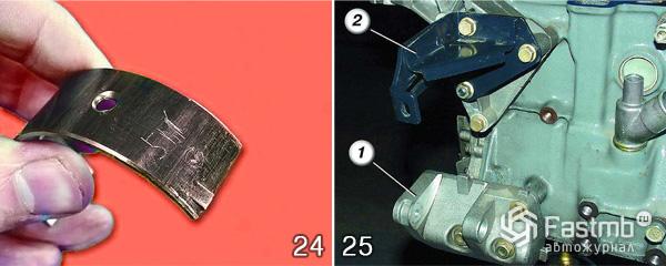 Разборка двигателя ВАЗ 2110 шаг 24-25