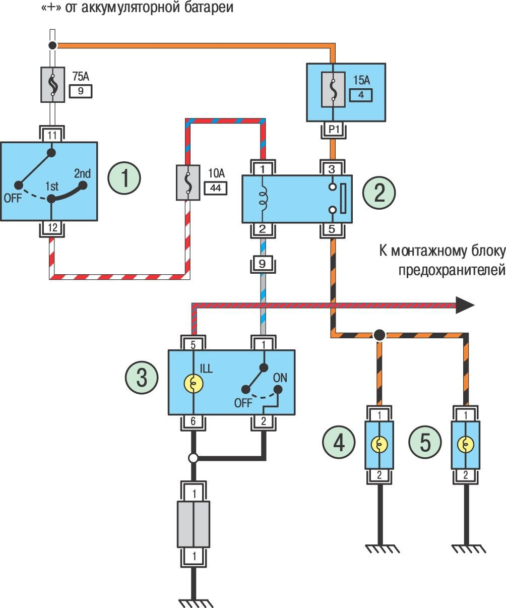 электрическая схема эбу на ниссан примера 1,8 объем