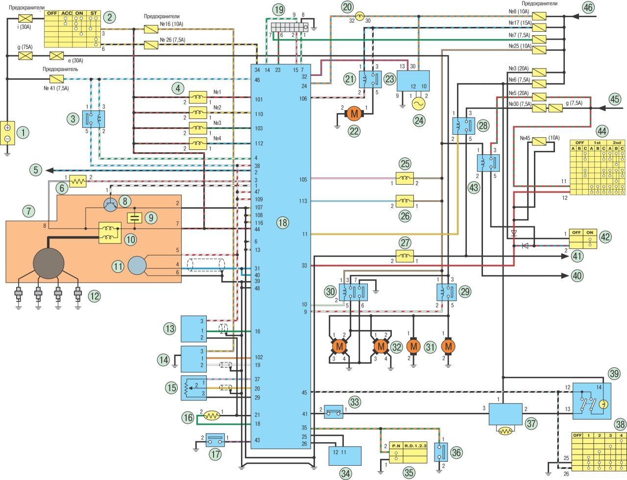 двигатель sr20 схема