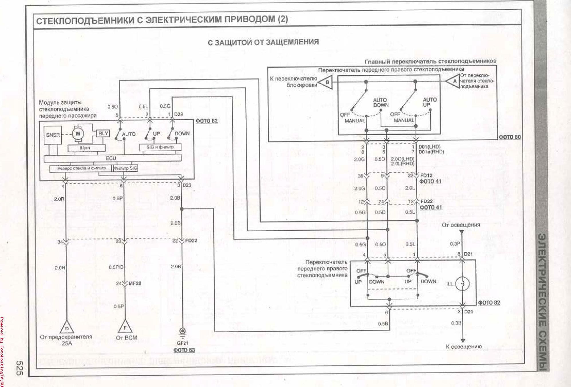 Ceed jd электрические схемы 41