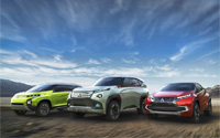 3 новые концепт-кара от Mitsubishi