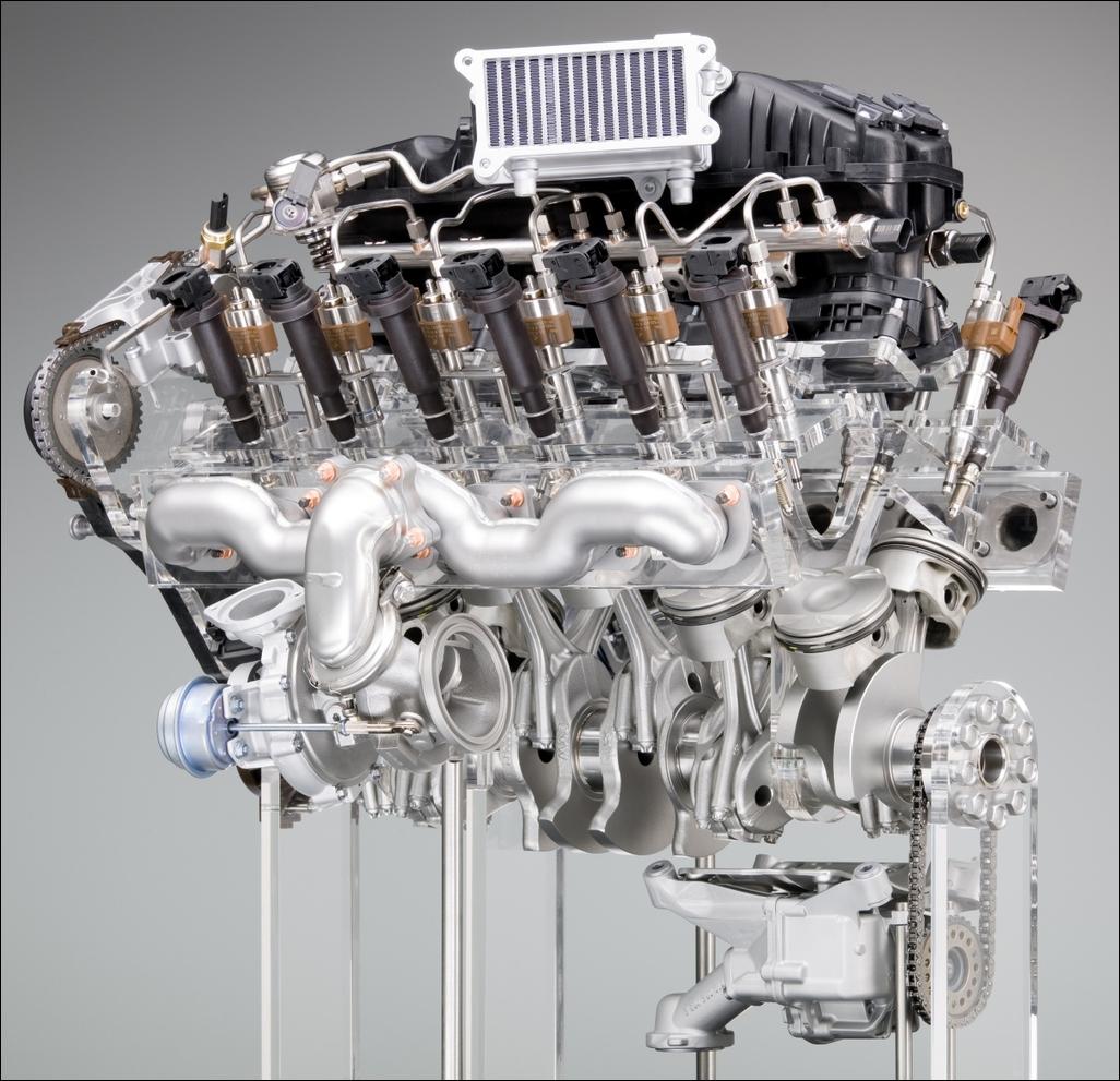 схема twin turbo
