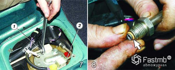 Фото №28 - как проверить работу бензонасоса ВАЗ 2110