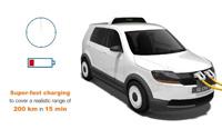 Электротакси EVA – 15 минут зарядки для 200 км пути