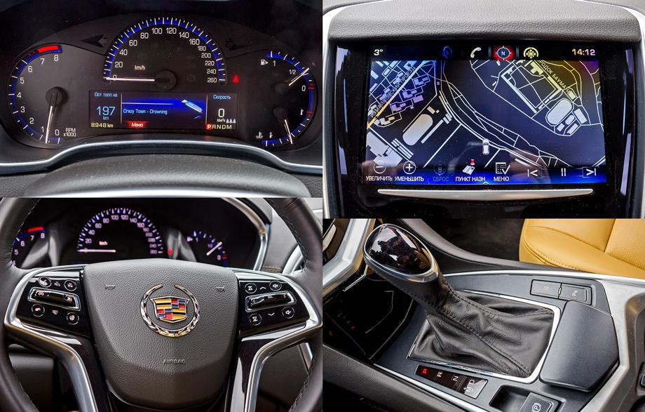 Салон нового Cadillac SRX