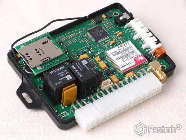Установка авто GSM
