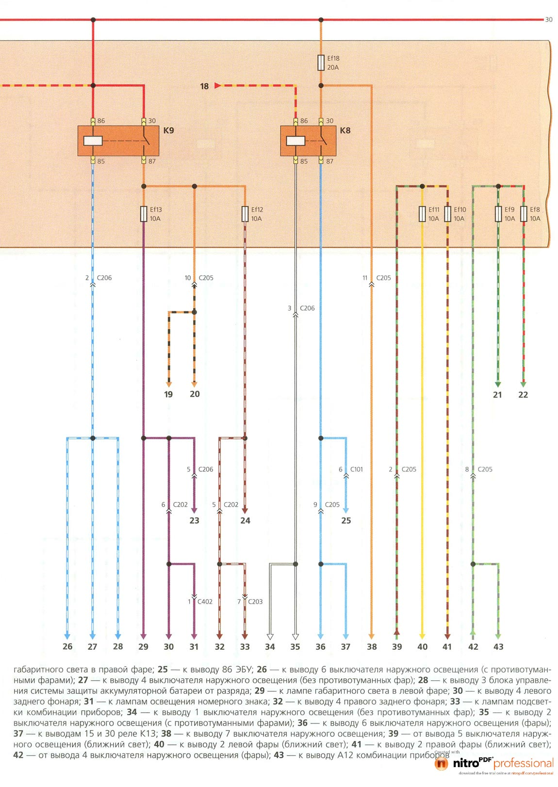 Схема проводов зажигания матиз