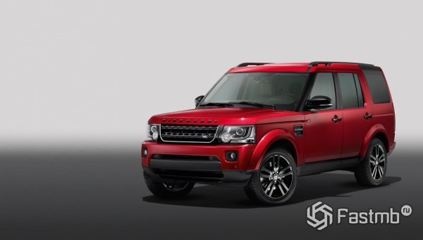 Land Rover Discovery XXV Black Design