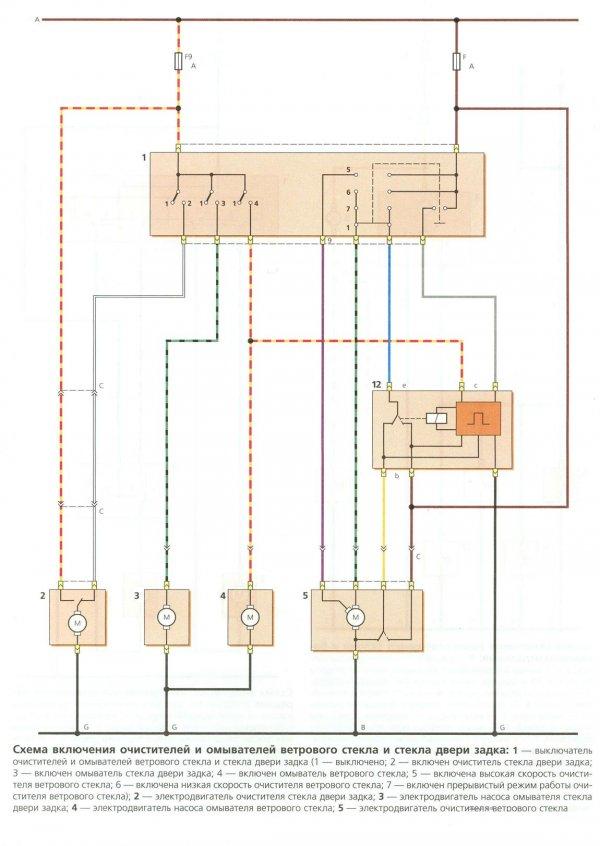 Электросхемы Daewoo Matiz