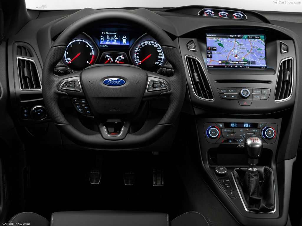 Ford focus 2018 white interior