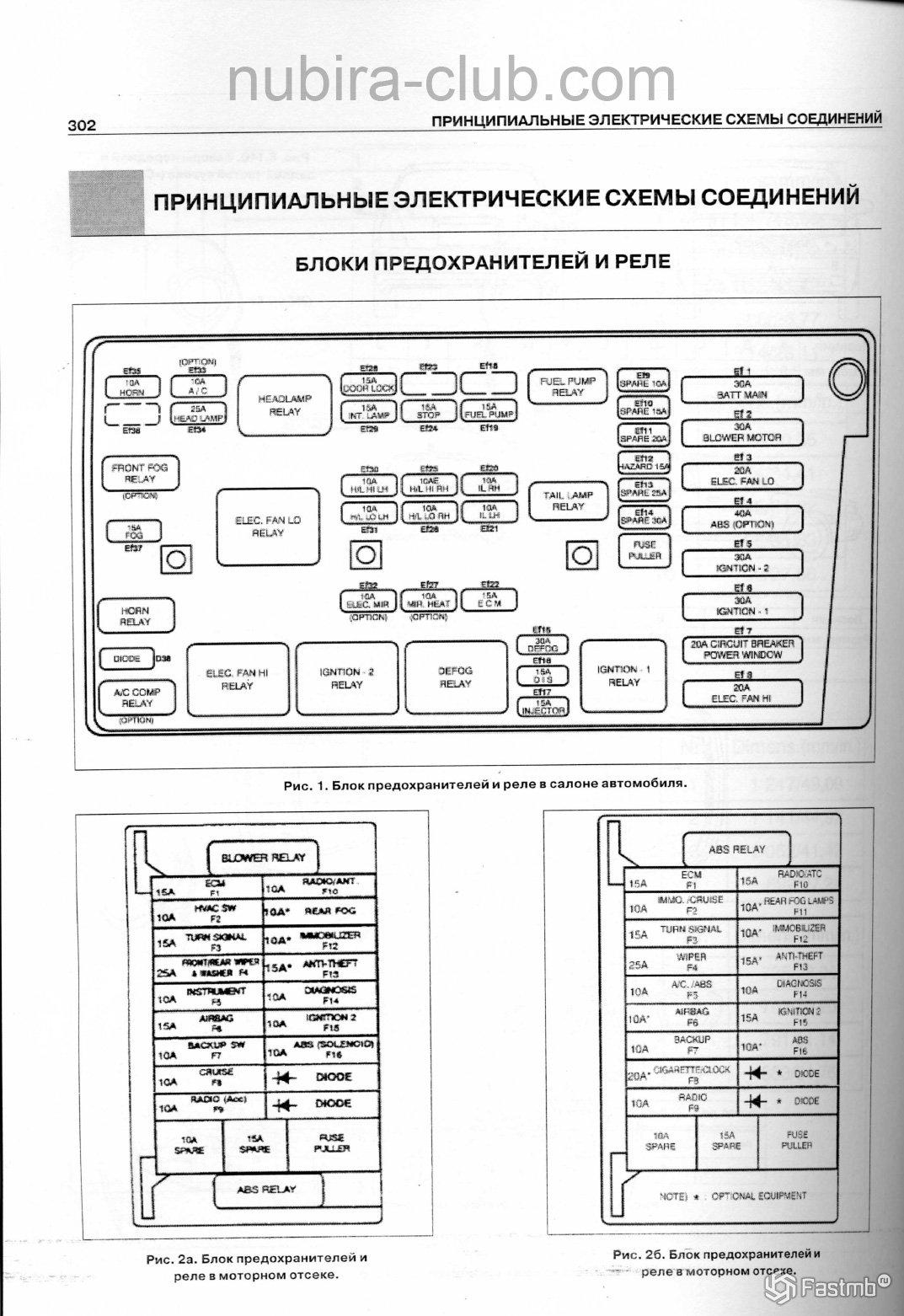схема работает система отопления дэу леганза