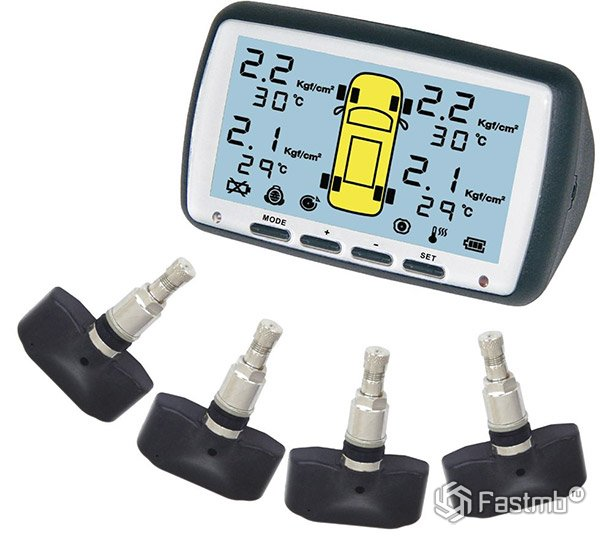 Tire Pressure Monitoring System nTray TPMS-Q04