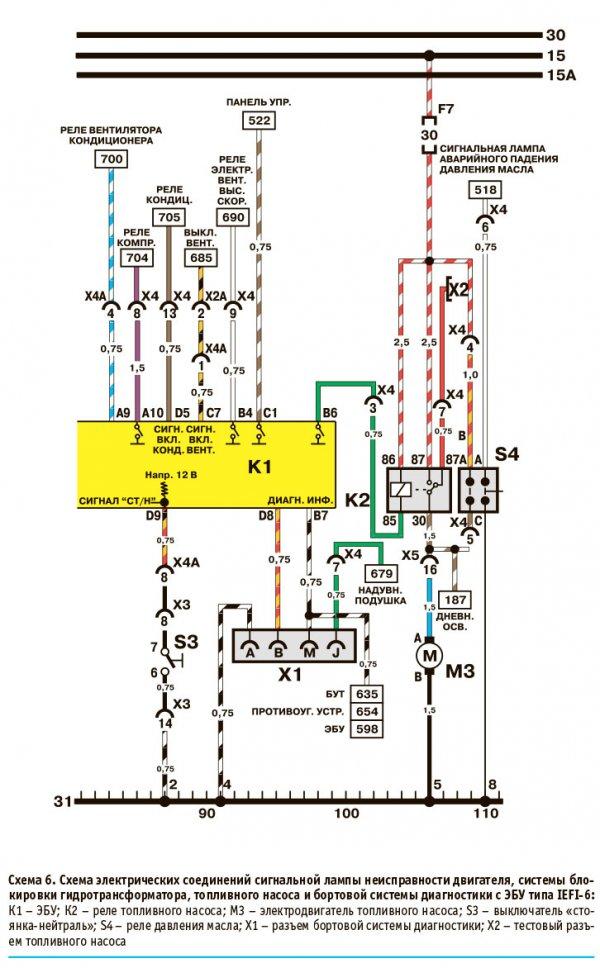Электрические схемы Дэу Нексия