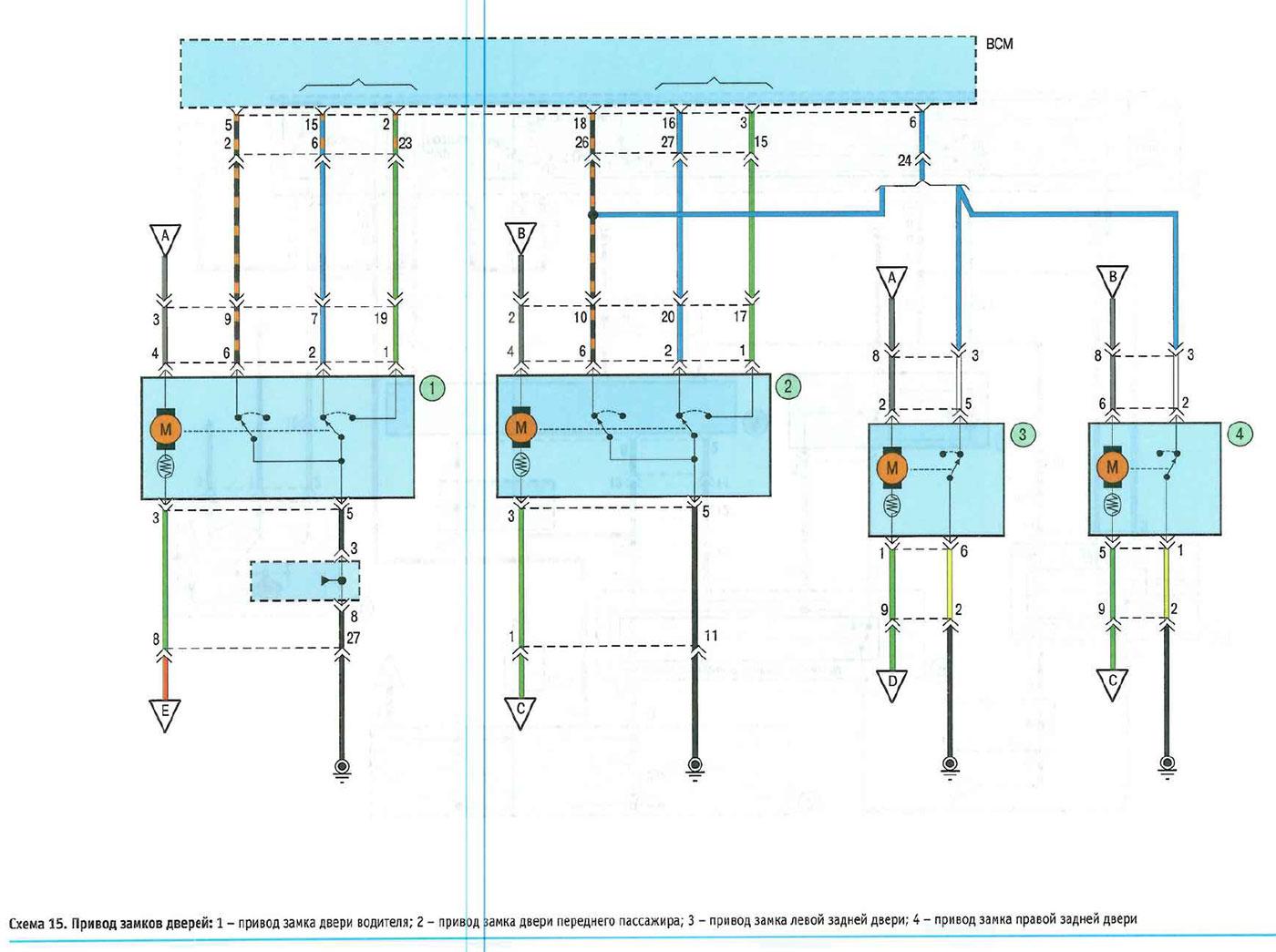 Электрические схемы для kia sportage 2
