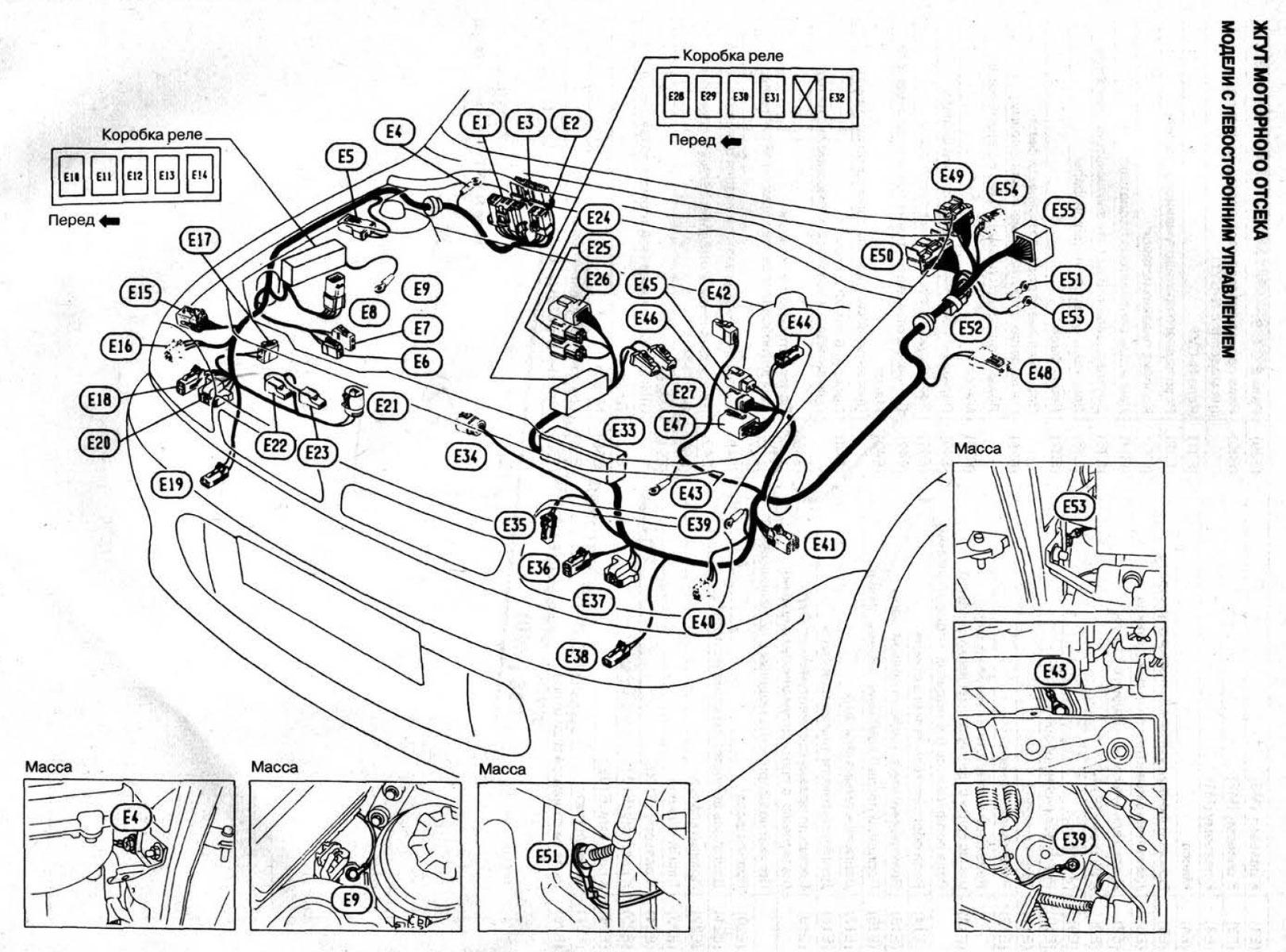 Схема генератора ниссан марч