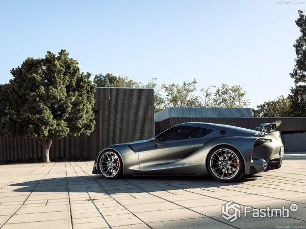 Toyota FT-1 Graphite Concept 2016