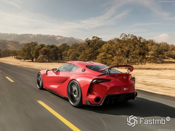 Toyota FT-1 Red Concept