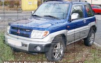 Электрическая схема Mitsubishi Pajero Pinin (iO). Часть 2
