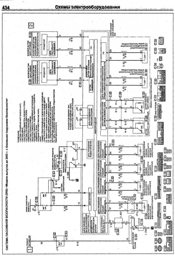 схема Mitsubishi Pajero