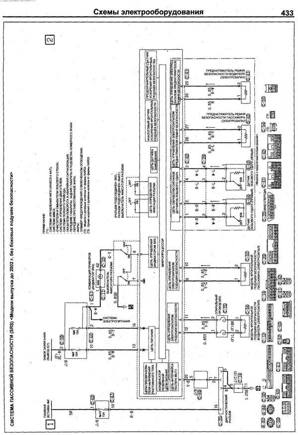 Pajero pinin схема вентиляции