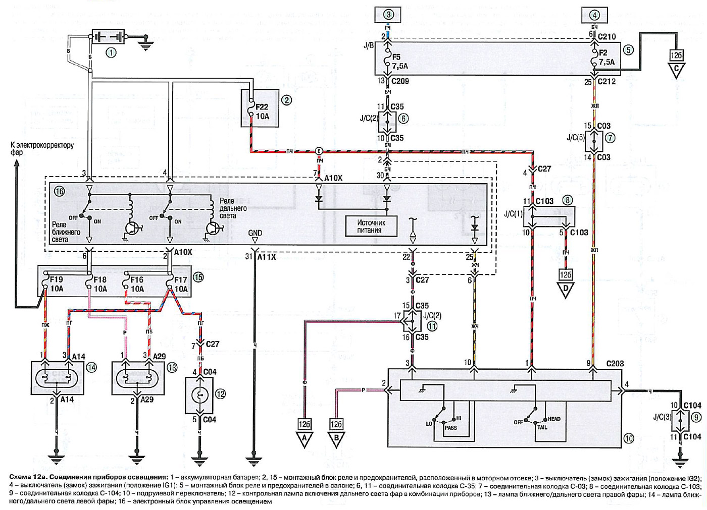 Электрическая схема мицубиси спейс стар фото 936