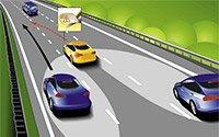 Система Lane Change Assist: помогает при смене полосы движения