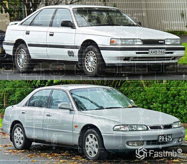 Mazda 626 (1989-1997) ― схема