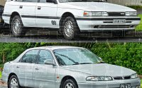 Mazda 626 (1989-1997) ― схема электрооборудования