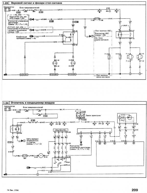 Электросхема двигателя KL.