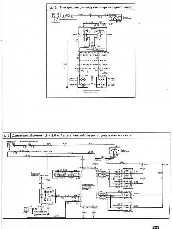 Схема аудиосистемы