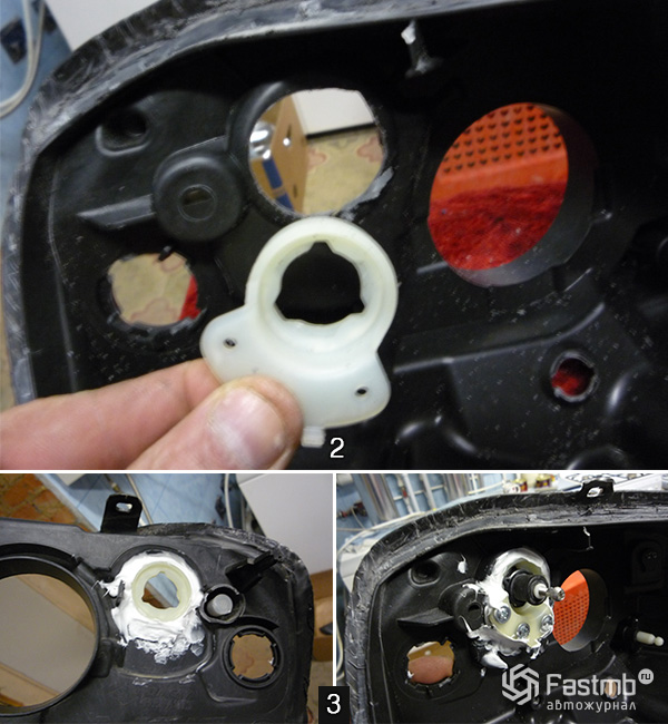 ремонт электрокорректора фар киа спектра