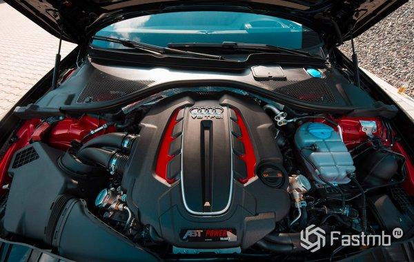 Технические характеристики Audi ABT RS6-R двигатель