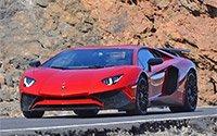 Новый Lamborghini Aventador SV стал трофеем шустрых фотоохотников