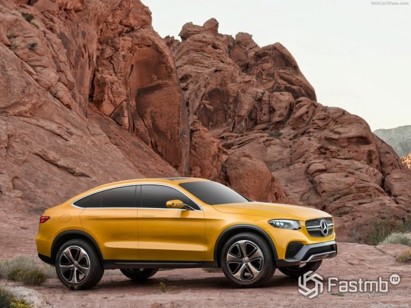 Mercedes-Benz GLC Coupe - конкурент BMW X4