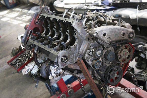 Как заменить двигатель