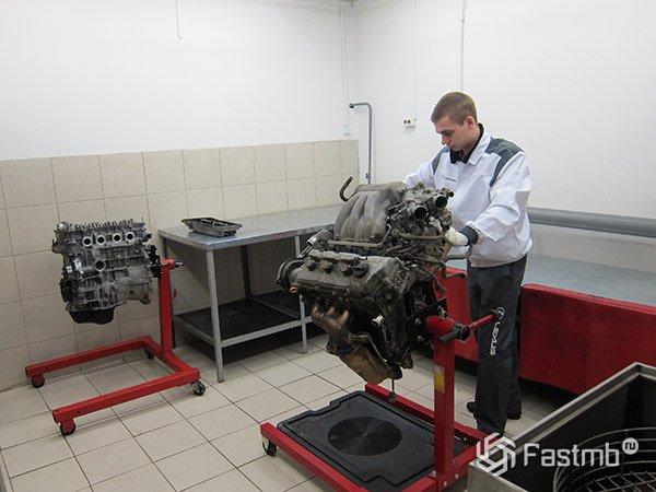 Установка нового двигателя