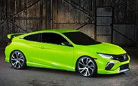����� Honda Civic 2015-2016 ���������� ���� ������