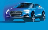 Прототип новой Audi Q6 будет на электричестве