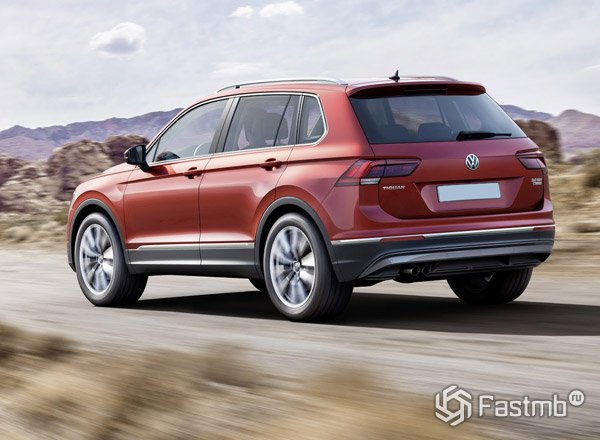 Volkswagen Tiguan off-road